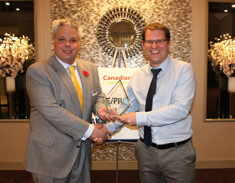 Raw Materials Company President James Ewles named the Waste Sector Executive of the Year by the Ontario Waste Management Association and its national partners.
