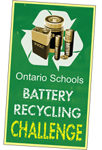Sign up for the Ontario Schools Battery Recycling Challenge by Raw Materials Company