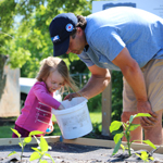 Lockview Park Community Garden Kicks Off Second Season with Planting Party!