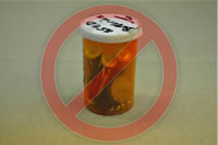 Do not place multiple unsecured lithium batteries in the same container