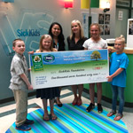 OSBRC Makes Donation to SickKids!