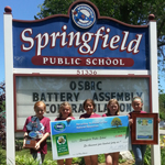 Springfield Public School Wins Provincial Recycling Challenge!