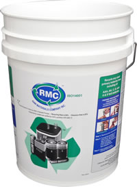 Raw Materials Company 5 Gallon collection container for household batteries